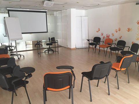 Presentación en Madrid - Preparación de Sala