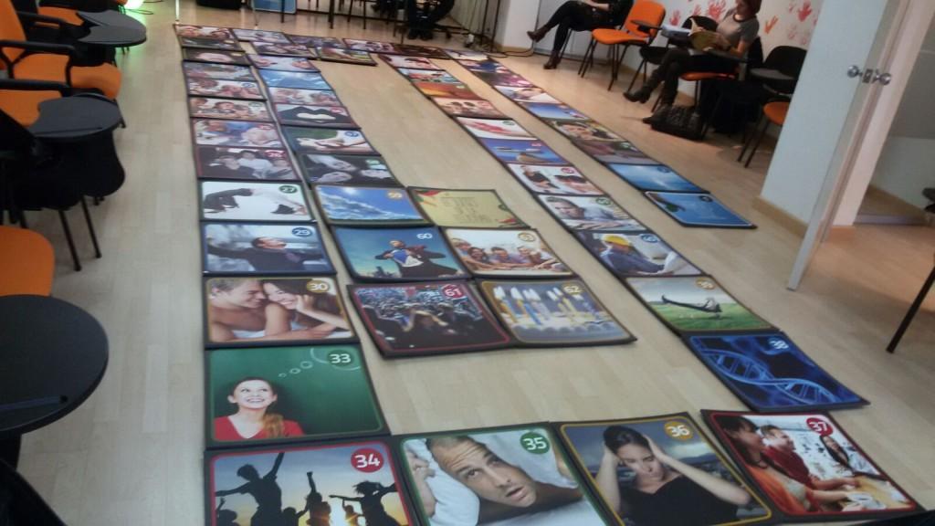 Presentación en Madrid - Preparación del tablero para simulación real