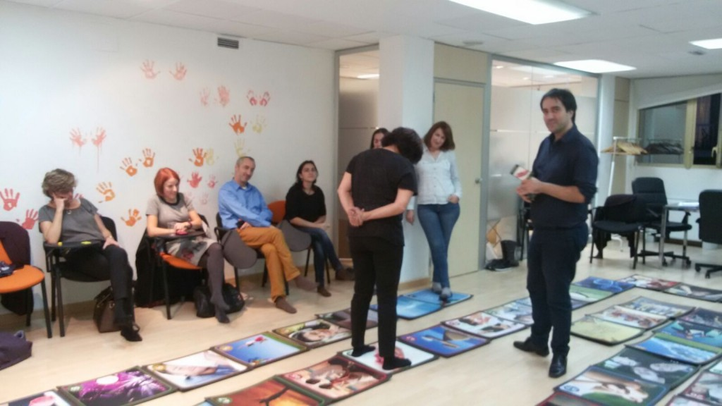 Presentación en Madrid - Momento de El juego de la Felicidad